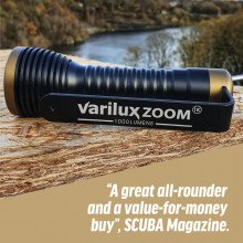 Varilux zoom torch recent review by scuba magazine