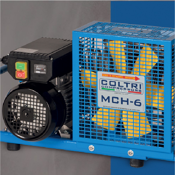 Portable Coltri compressors supplied by Northern Diver