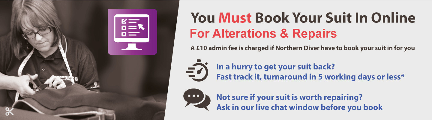 Book in your suit for repairs and alterations online