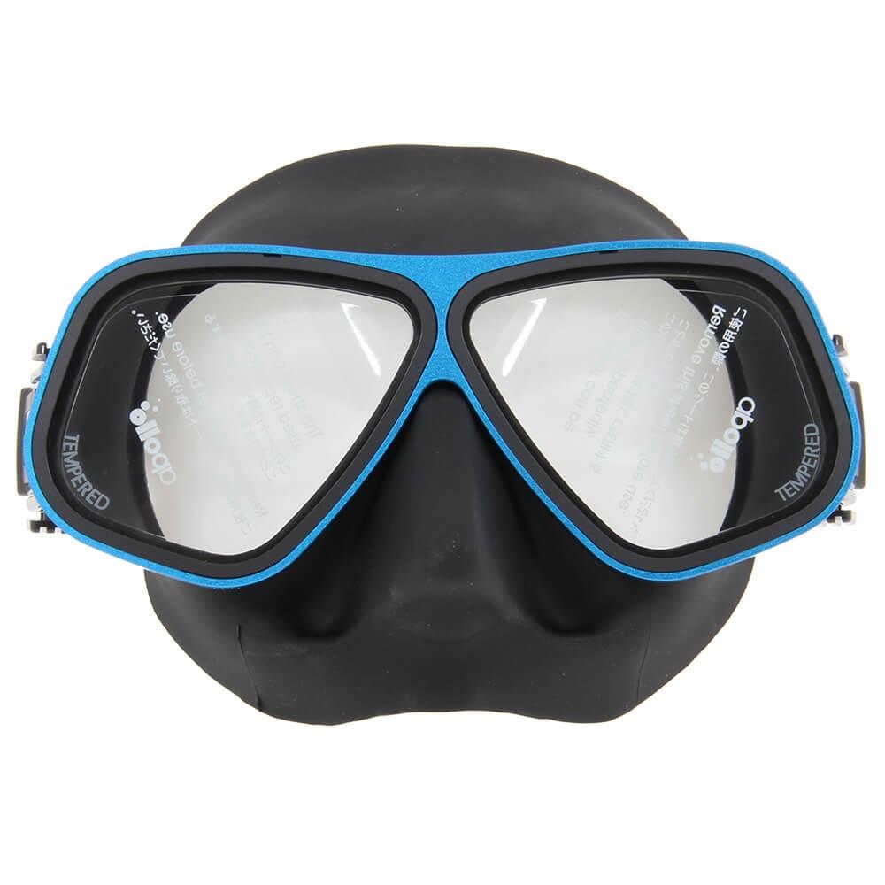 Bio Metal Blue Mask | Northern Diver UK | Snorkelling and Diving Mask