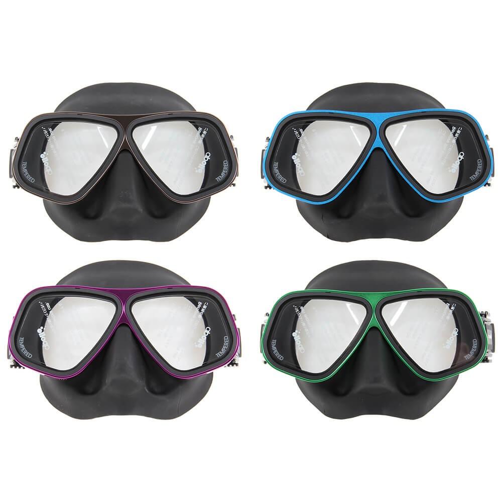 Bio Metal Mask | Northern Diver UK | Snorkelling and Diving Mask