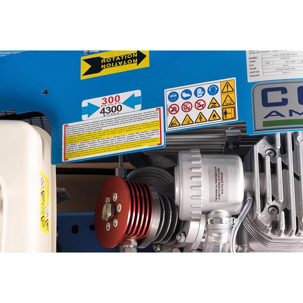 MCH 13/16 SH Mini Tech Compressor    Northern Diver UK   Filling Station Compressors