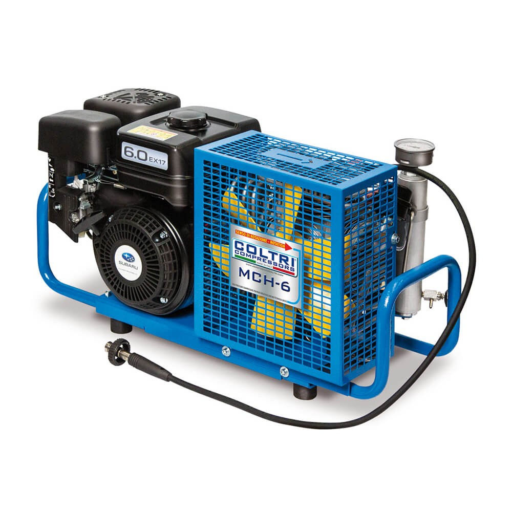 MCH 6 SR Compressor | Northern Diver UK | Portable and Paintball Compressor