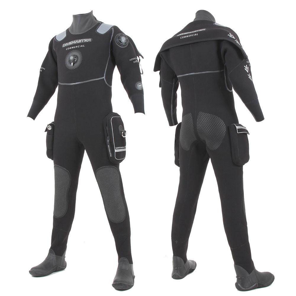 Divemaster Commercial Drysuit   Neoprene Diving Drysuit for Sale   Northern Diver International