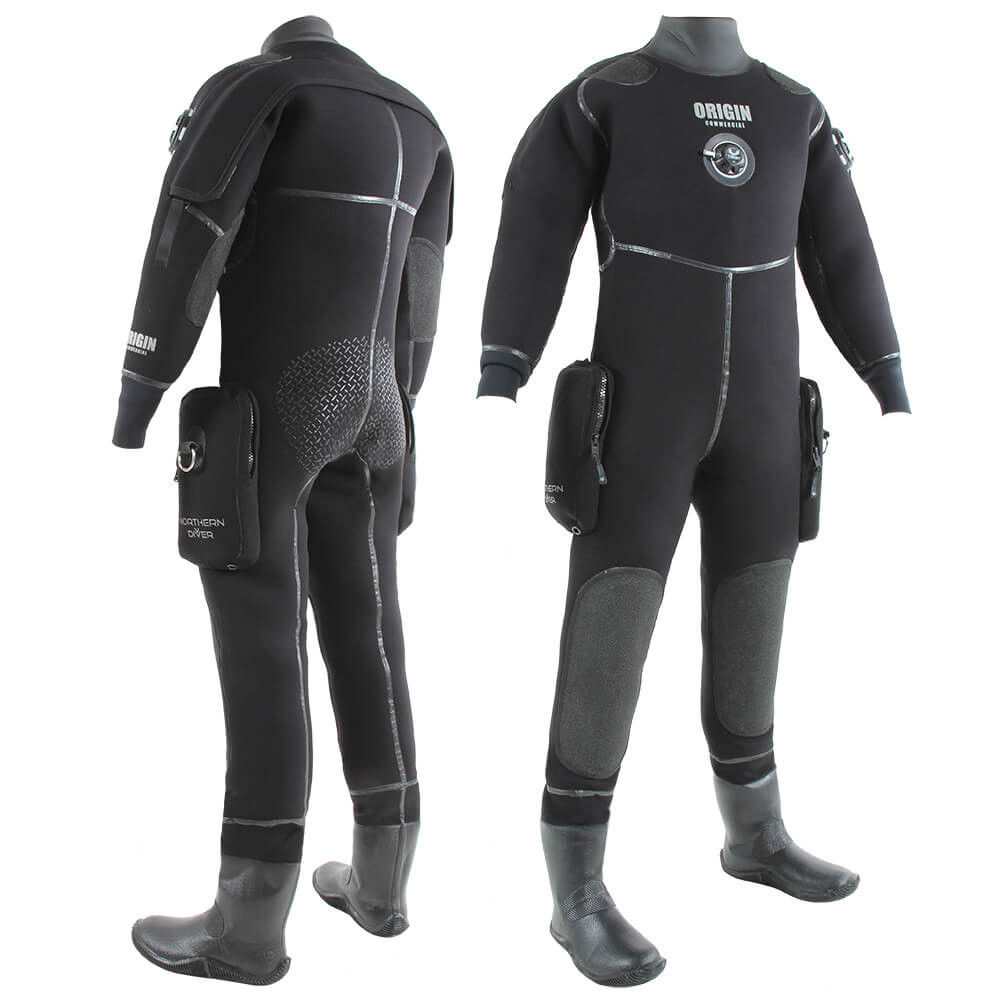 Origin Drysuit   Commercial Neoprene Diving Drysuit for Sale   Northern Diver International