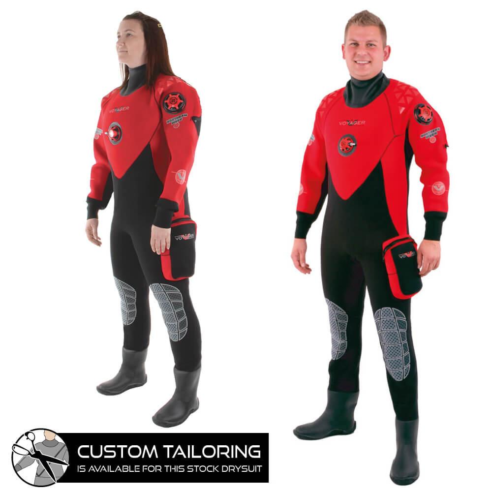 Voyager Drysuit   Diving Drysuit for Sale   Northern Diver International