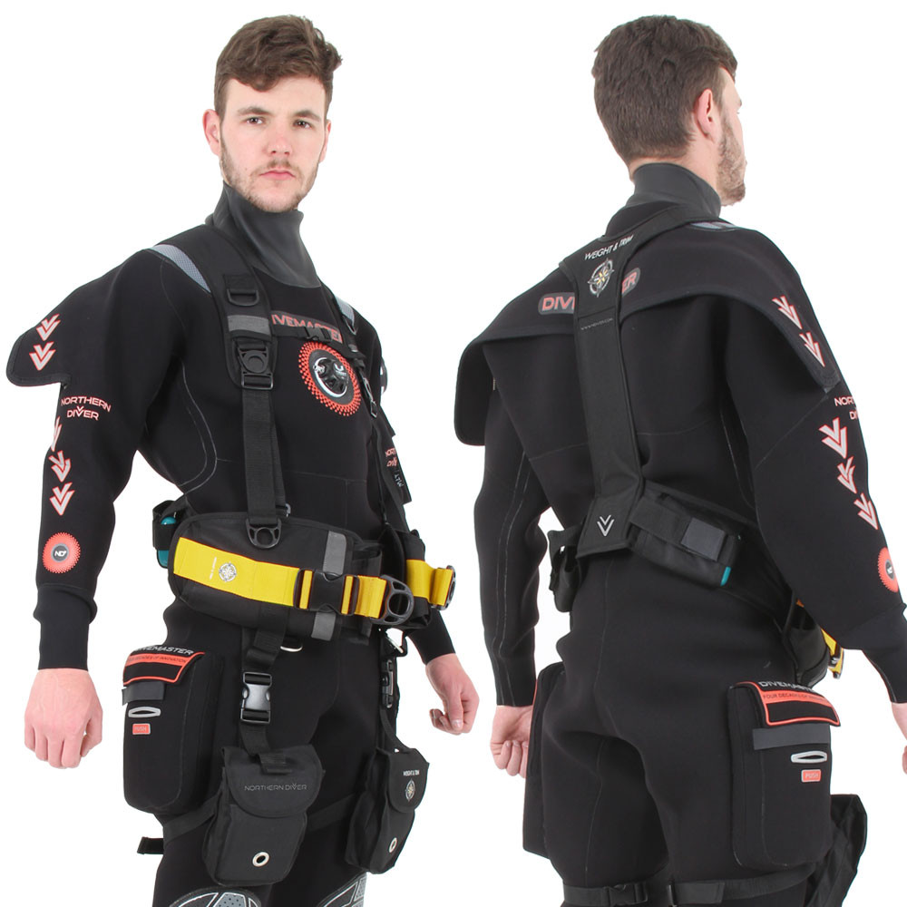 Weight & Trim Harness V2 - front & back view