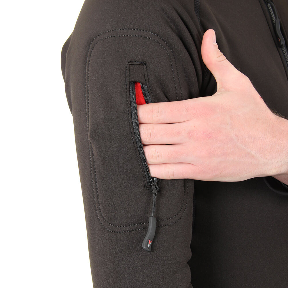 Bodycore Sub Zero Undersuit - with zipped pocket on the arm, opened