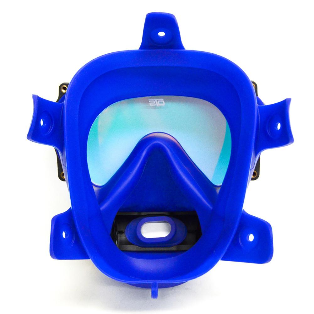 OTS blue skirted, Spectrum FFM - inside view