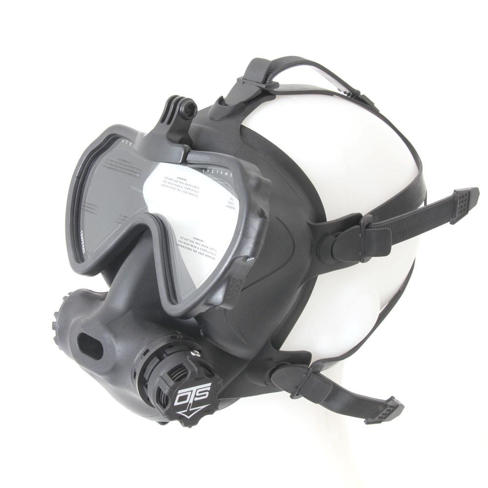 OTS black skirted, clear lens Spectrum FFM - right side view