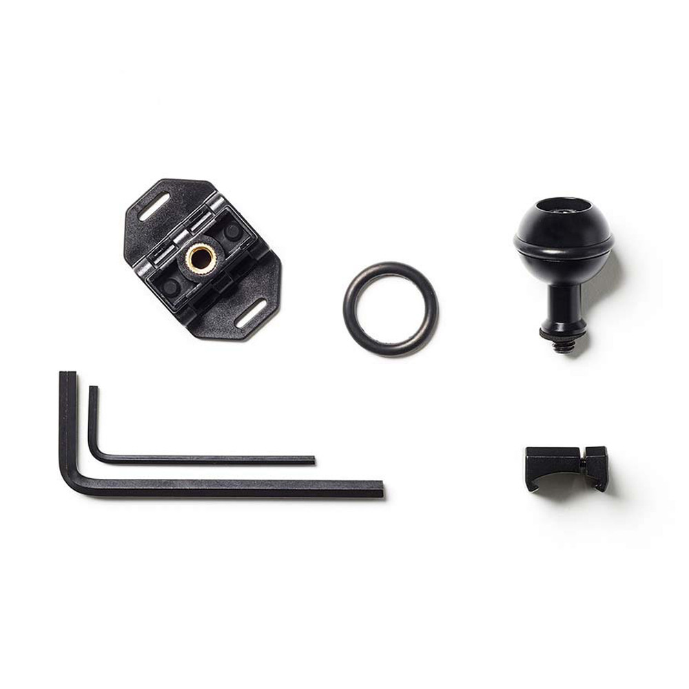 Paralenz Ball Mount - what's in the box