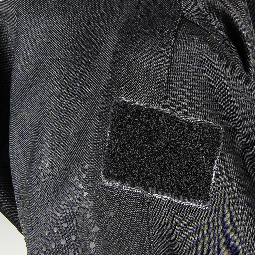 Tri-Laminate Diving Drysuit - hook and loop fastening arm patch