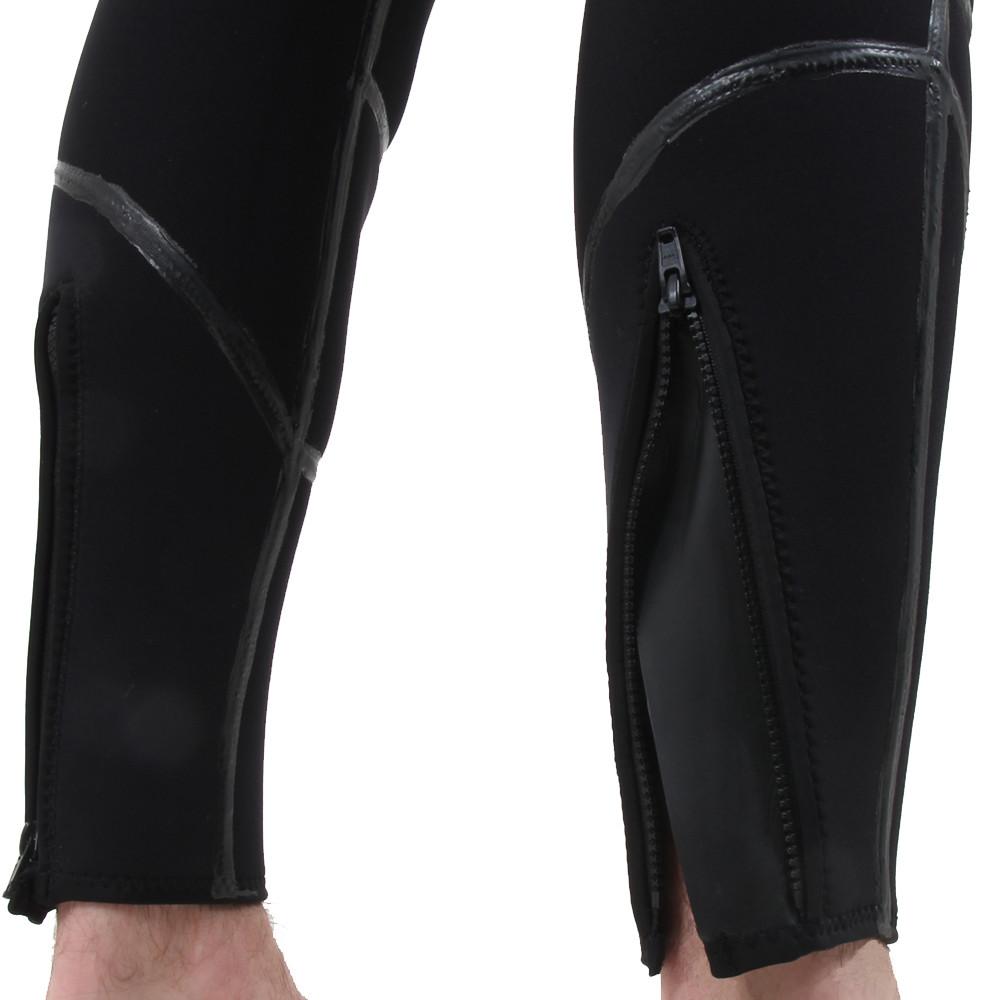 Semi-Tech 3-piece Wetsuit System - Long John leg zips