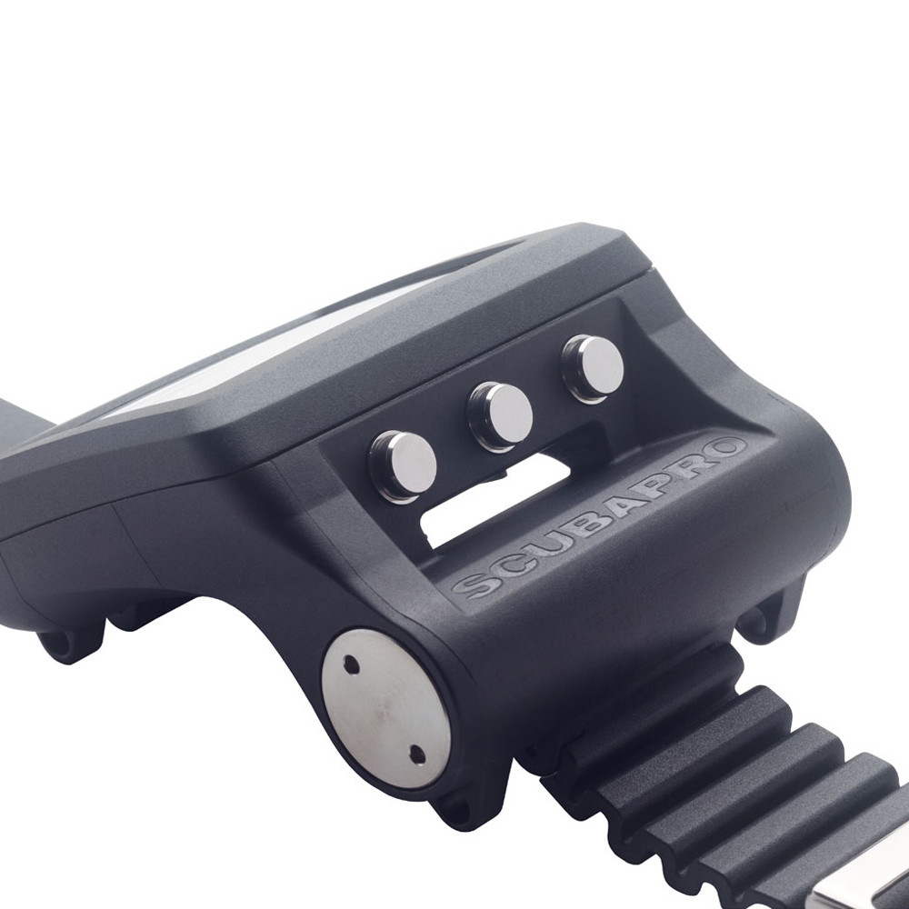 SCUBAPRO G2 Wrist Dive Computer - Menu buttons for use in and out of the water