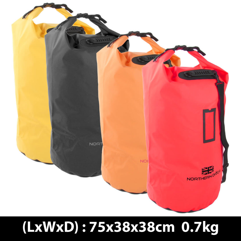 Large roll top dry bags (117L)